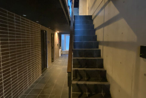 アレーロ大岡山の内廊下