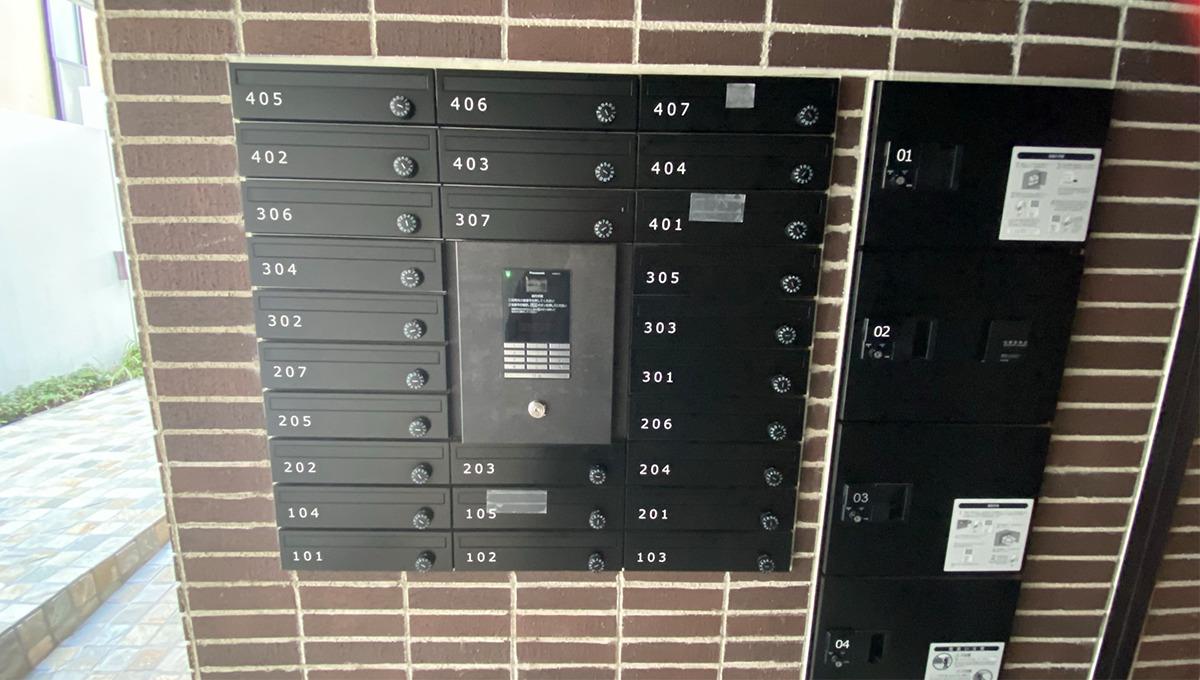 アレーロ大岡山のモニター付オートロック