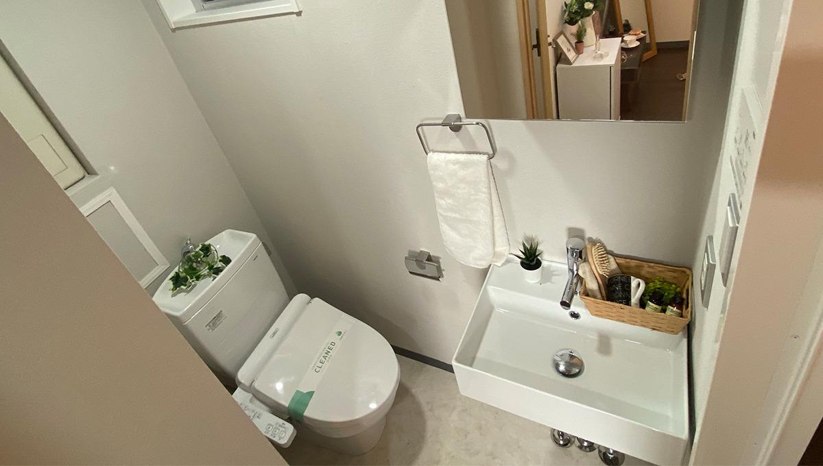 フェリーチェ洗足(センゾク)のウォシュレット付トイレt