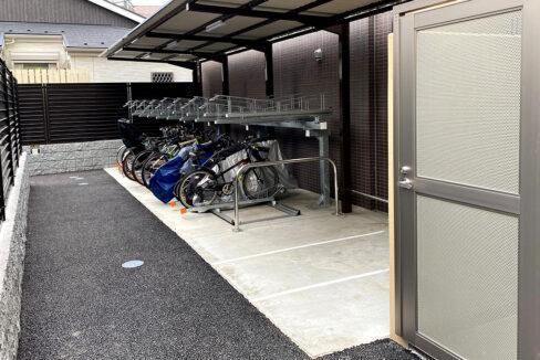 Opus residence Meguro Senzoku(オーパスレジデンスメグロセンゾク)の駐輪場