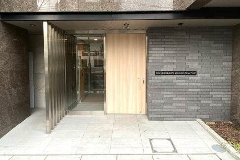 Opus residence Meguro Senzoku(オーパスレジデンスメグロセンゾク)のエントランス