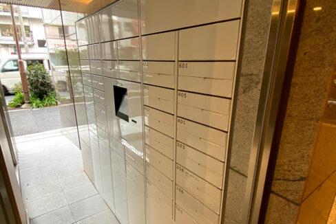 Opus residence Meguro Senzoku(オーパスレジデンスメグロセンゾク)のメールボックスと宅配ボックス