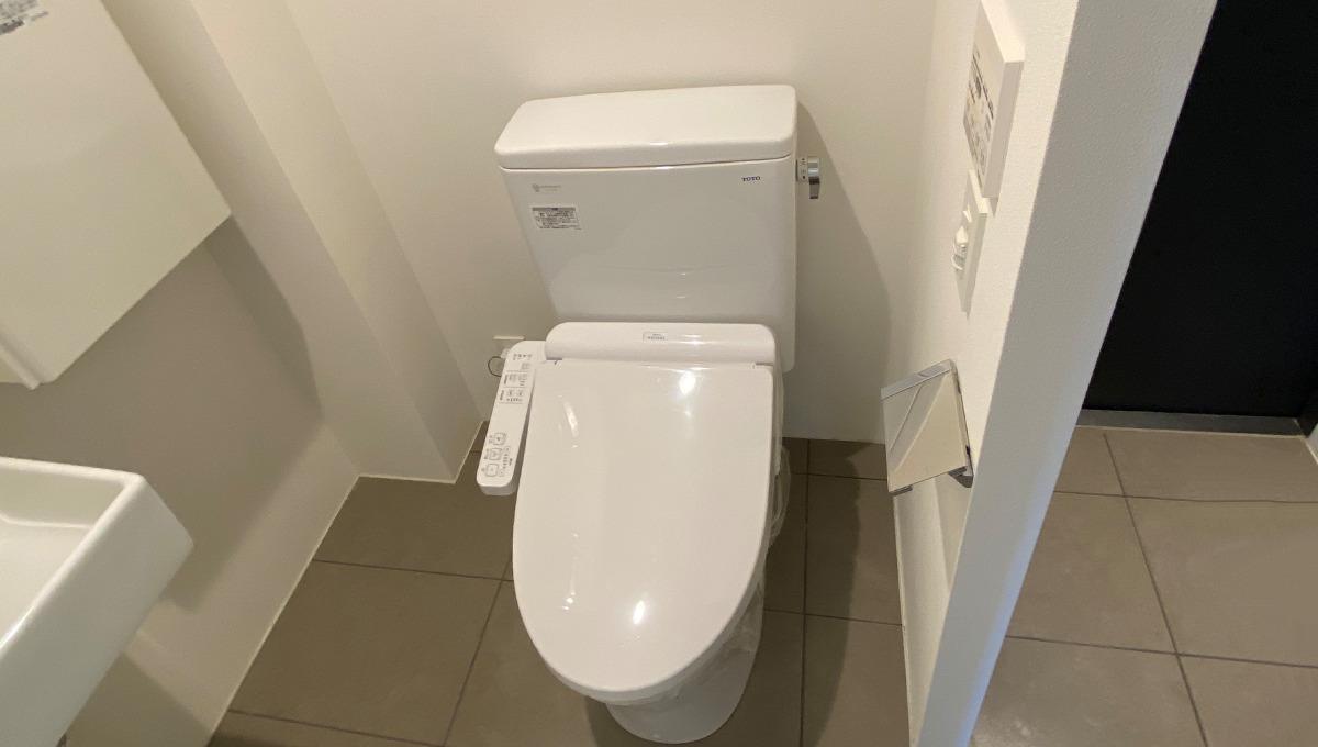 プロト大岡山(オオオカヤマ)のウォシュレット付トイレ