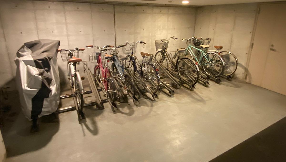 stella-court-senzoku-bicycle-parking