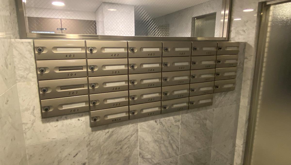 ステラコート洗足(センゾク)のメールボックス