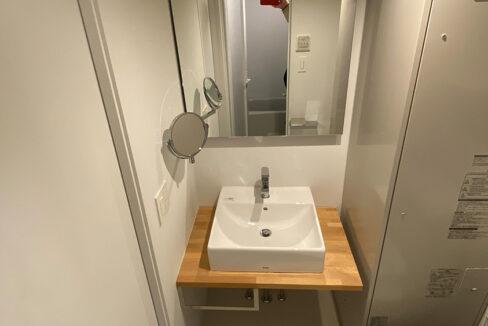 ステラ北千束(ステラキタセンゾク)の独立洗面台