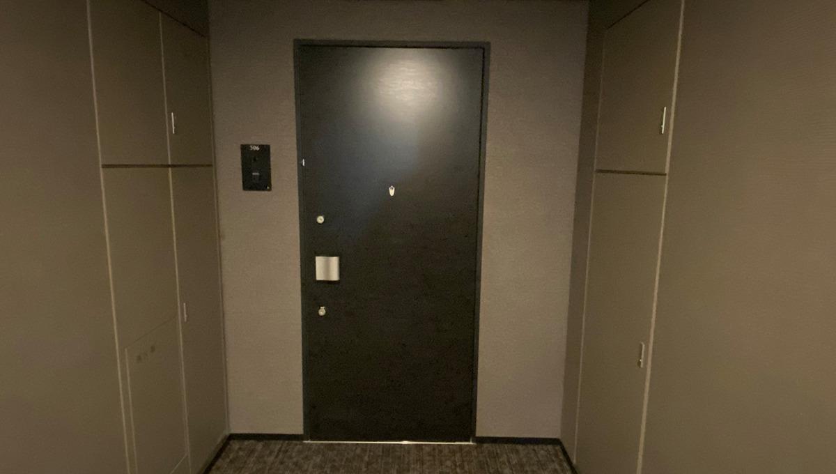 バウスフラッツ品川大井町(シナガワオオイマチ)の玄関ドア