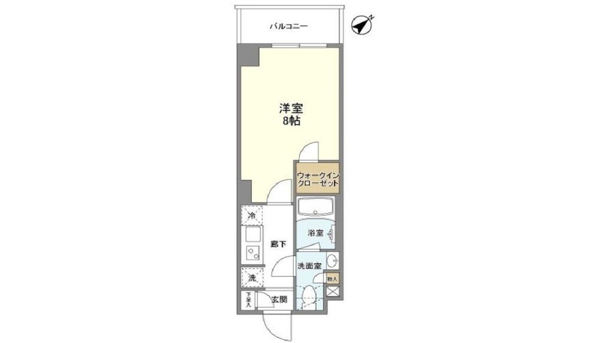 bausu-flats-shinagawa-ooimachi-floor-map