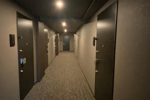 バウスフラッツ品川大井町(シナガワオオイマチ)の内廊下r