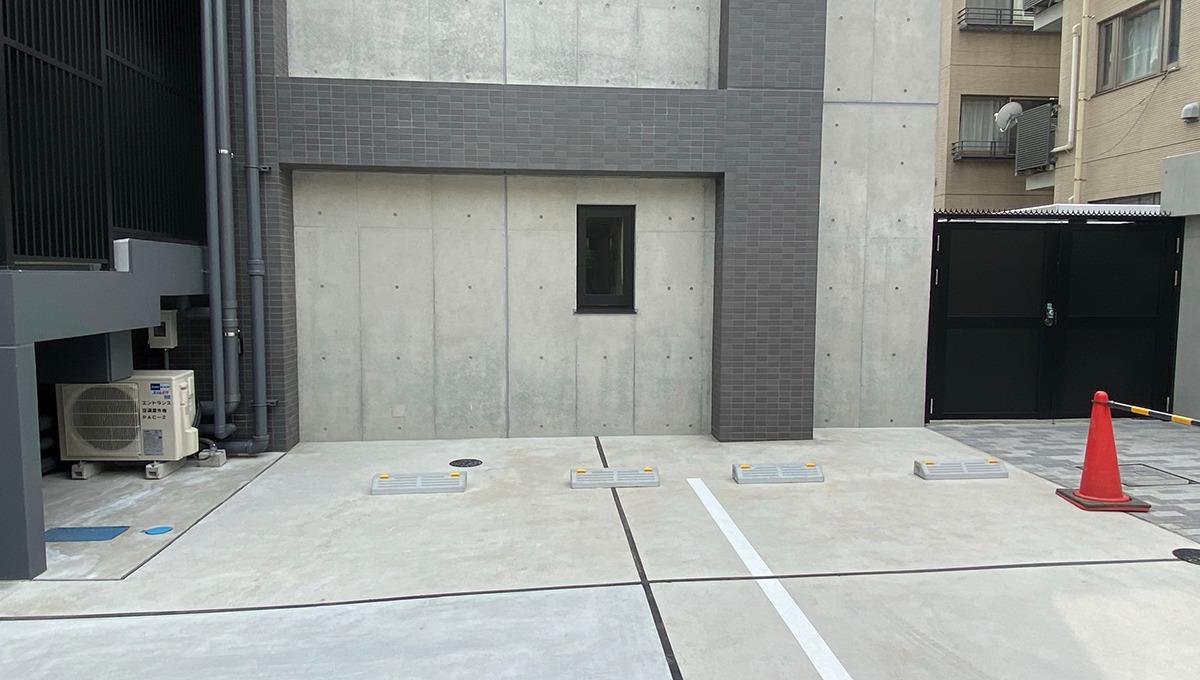 バウスフラッツ品川大井町(シナガワオオイマチ)の平置駐車場
