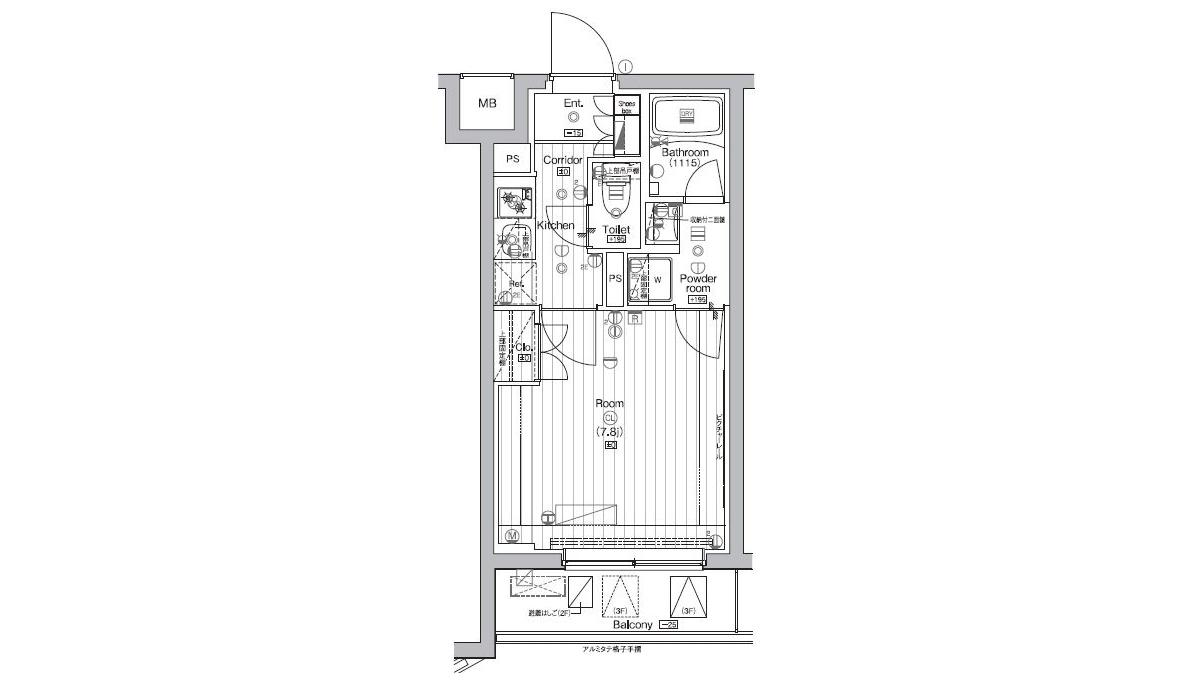 courtyard-senzoku-floor-plan-204
