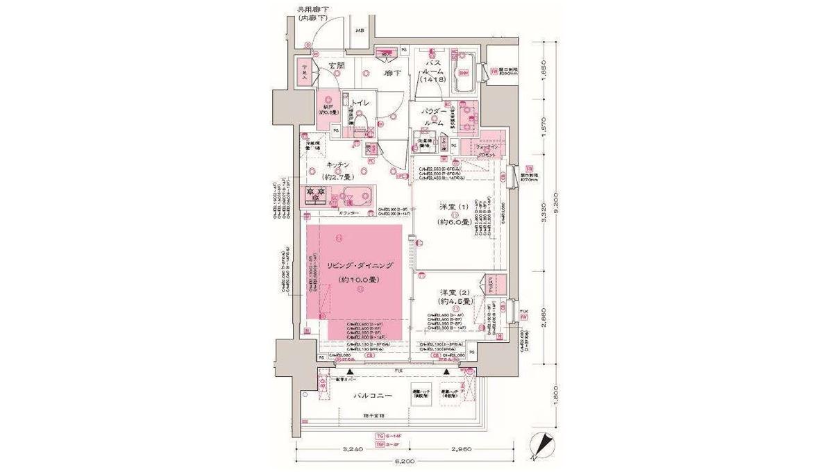dimus-ooimachi-floor-plan