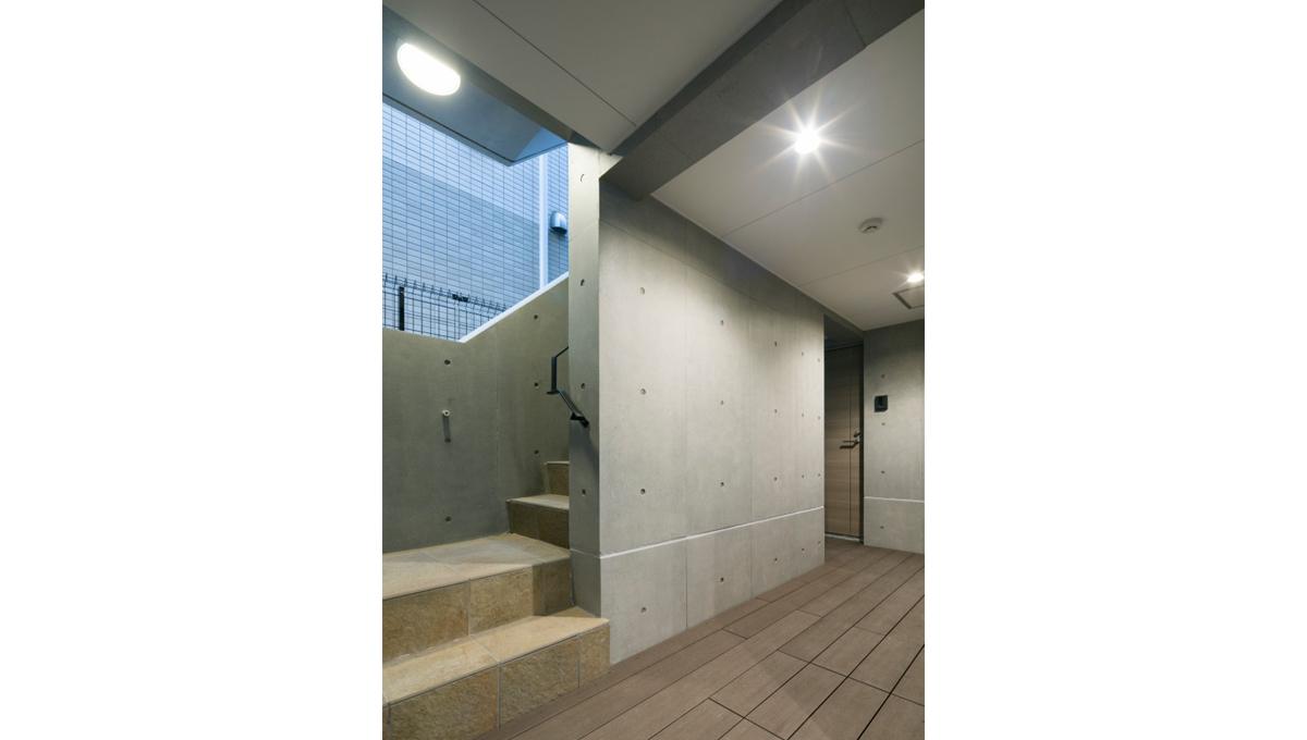 EXAM西小山(エクサムニシコヤマ)の廊下