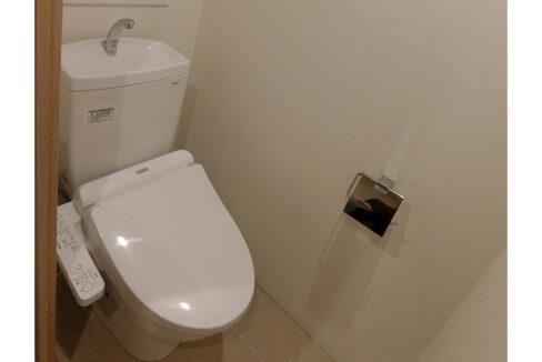 EXAM西小山(エクサムニシコヤマ)のウォシュレット付トイレ