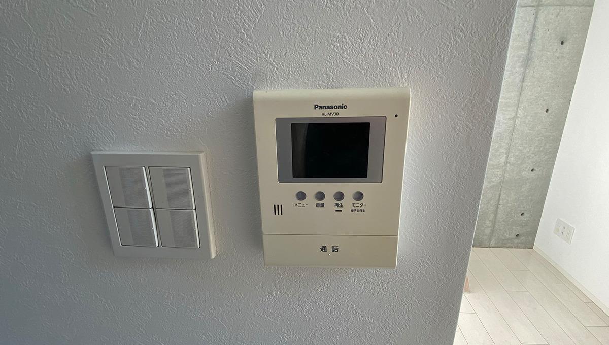 garage-spec-musashikoyama-inner-dガレージスペック武蔵小山(ムサシコヤマ)のモニター付インターフォンoor-phone