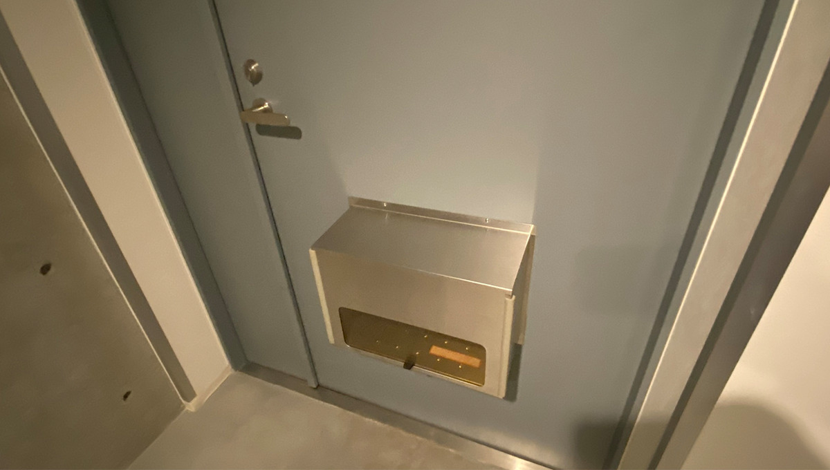 garage-spec-musashikoyama-mailbox