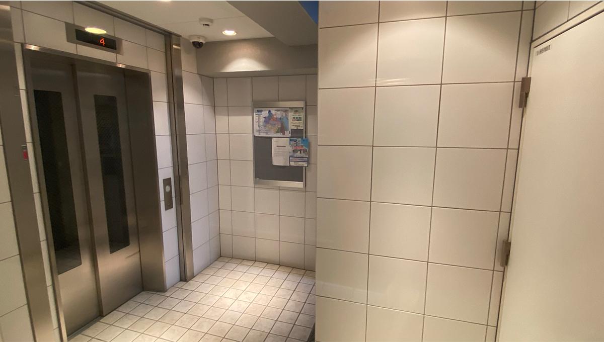 グランペールのエレベーター