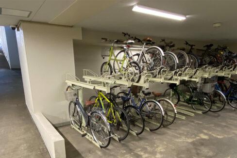 grande-maison-musashikoyama-bicycle-parking
