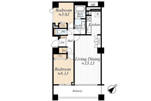 grande-maison-musashikoyama-floor-plan