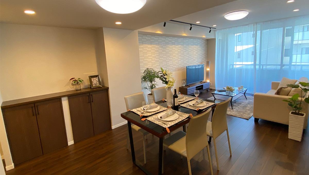 grande-maison-musashikoyama-living-dining-kitchen