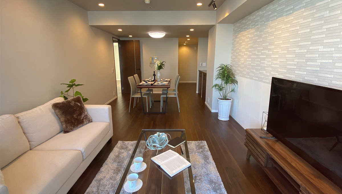 grande-maison-musashikoyama-living