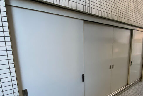 grande-maison-musashikoyama-trash-area