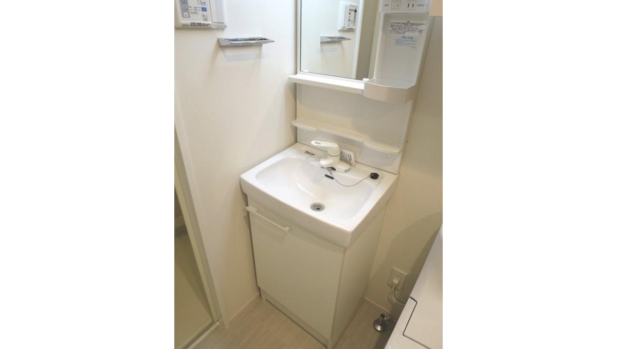 ハーモニーレジデンス品川荏原(シナガワエバラ)の独立洗面台