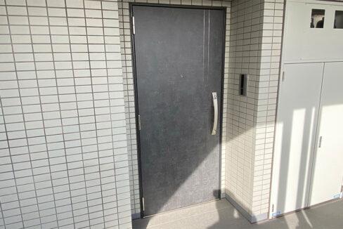 アイル品川ウエスト旗の台(ハタノダイ)のダブルロックの玄関ドア