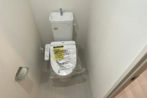 アイル品川ウエスト旗の台(ハタノダイ)のウォシュレット付トイレ
