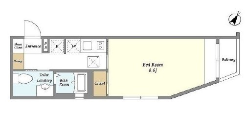 laxrass-senzoku-floor-plan-4-1f