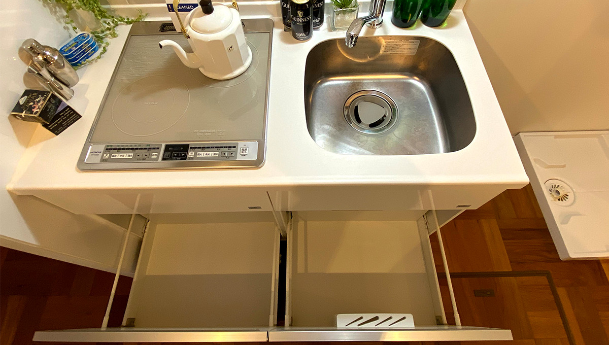 laxrass洗足(ラクラス洗足)のキッチンワークトップ
