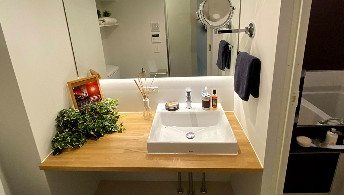 laxrass洗足(ラクラス洗足)の独立洗面台
