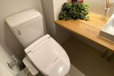 laxrass洗足(ラクラス洗足)のウォシュレット付トイレ