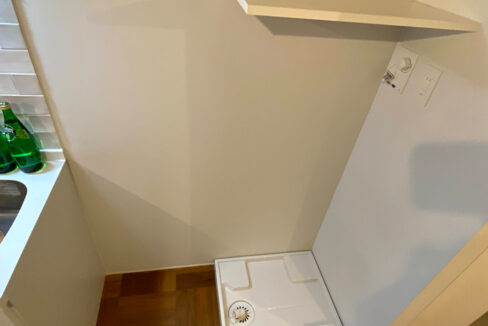 laxrass洗足(ラクラス洗足)の洗濯機置場