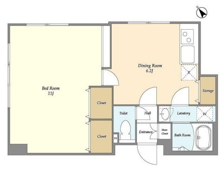 legaland-oimachi-floor-plan