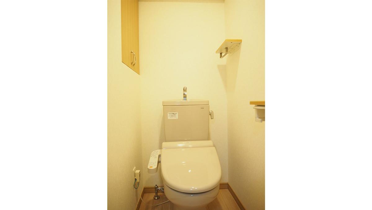 ルーブル旗の台弐番館(ハタノダイ)のウォシュレット付トイレ