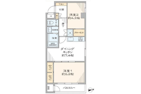 ooimachi-heights-floor-plan
