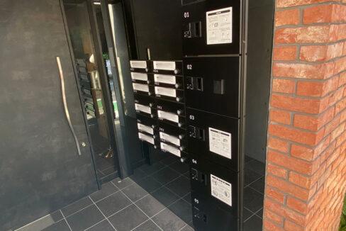 PASEO武蔵小山Ⅱ(ムサシコヤマ)の宅配ボックスとメールボックス