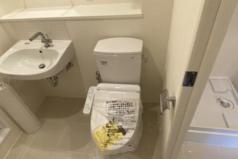 PASEO武蔵小山Ⅱ(ムサシコヤマ)のウォシュレット付トイレ