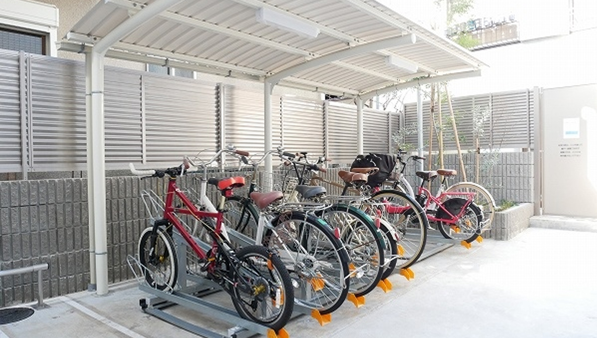 プレミアムキューブ品川戸越(シナガワトゴシ)の駐輪場