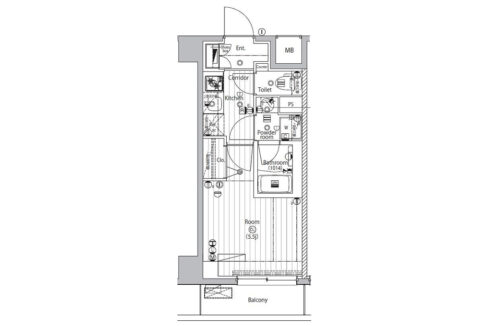 premium-cube-sinagawa-togoshi-floor-plan