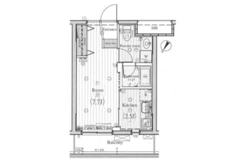 reglus-ookayama-floor-plan