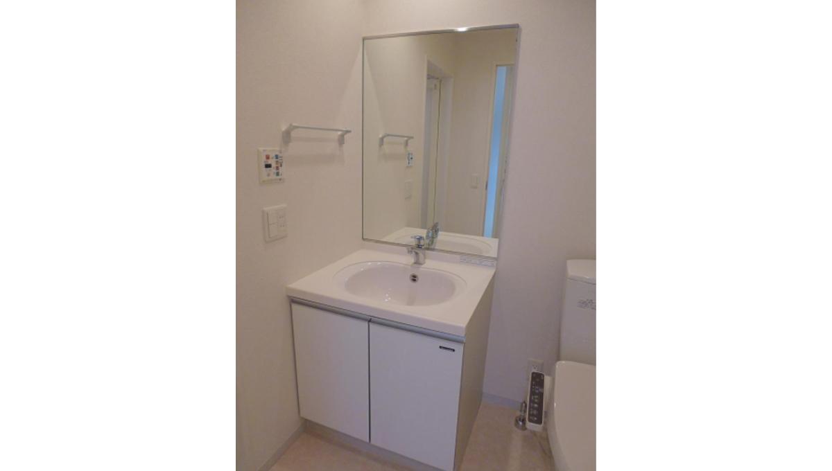 レグラス大岡山(オオオカヤマ)の独立洗面化粧台