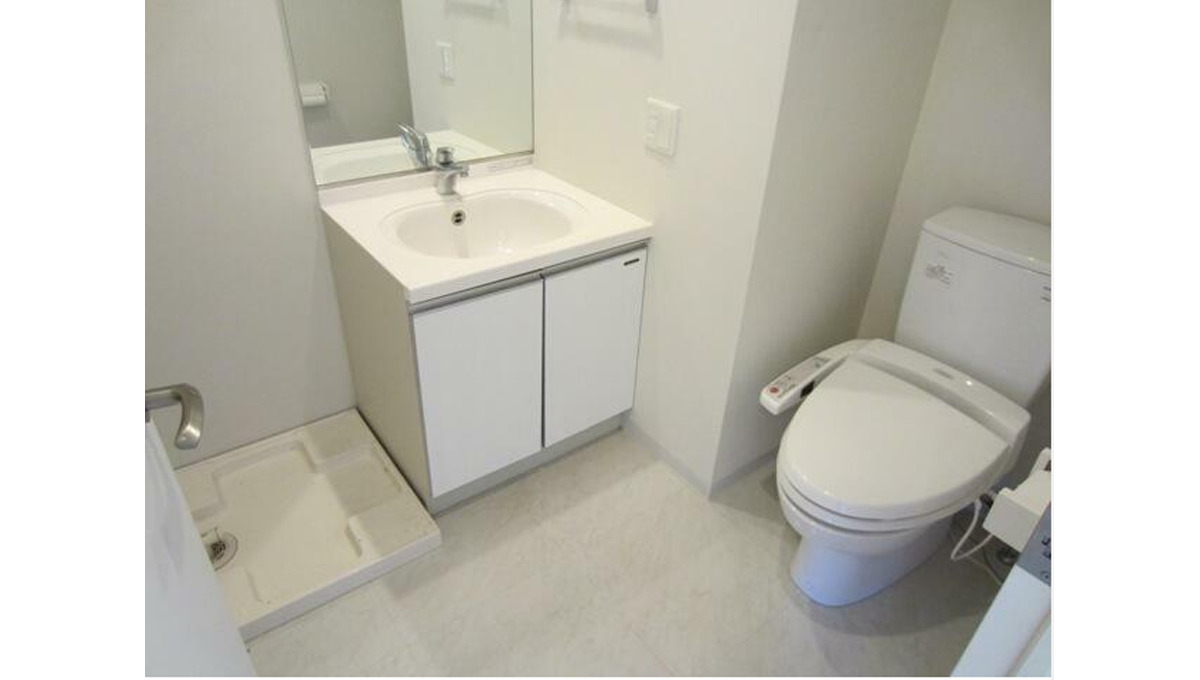 レグラス大岡山(オオオカヤマ)の独立洗面台