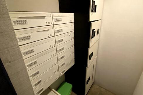 レピア大岡山(オオカヤマ)の宅配ボックス
