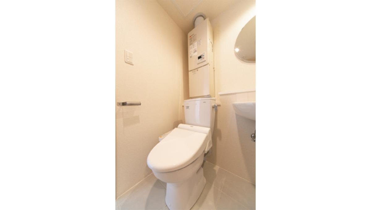 レピア大岡山(オオカヤマ)のウォシュレット付きトイレ