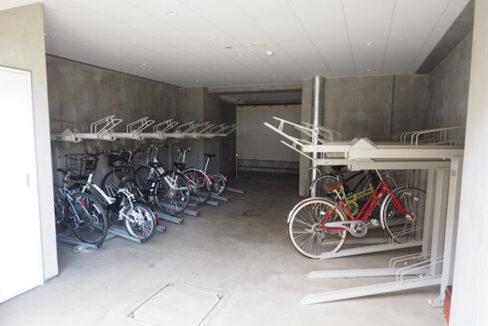 residia-nakanobu-bicycle-parking