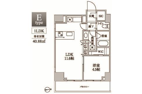 residia-nakanobu-floor-plan-1302