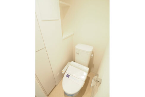 レジディア中延Ⅱ(ナカノブ)のウォシュレット付きトイレ