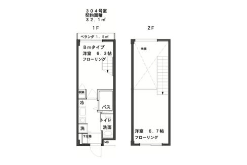 SPeC House 戸越( スペック ハウス トゴシ)の間取図